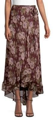 Polo Ralph Lauren Alina Floral Wrap Skirt