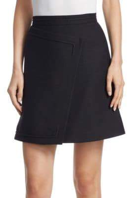 Carven Asymmetrical Mini Skirt
