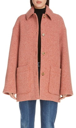 Acne Studios Donegal Wool Blend Coat