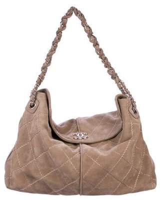 Chanel Ultimate Diamond Stitch Hobo