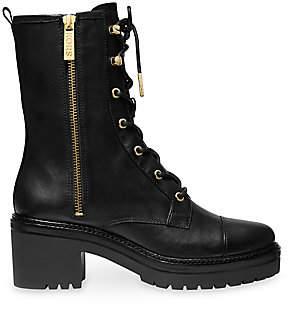 MICHAEL Michael Kors Women's Anaka Combat Boots