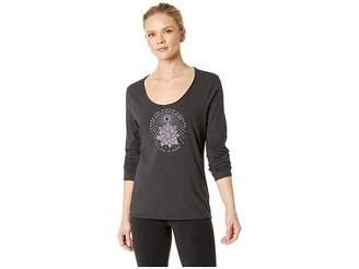 Life is Good Illuminated Flower Smooth Long Sleeve T-Shirt