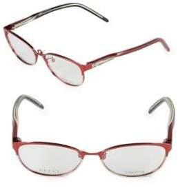Gucci 54mm Oval Optical Glasses