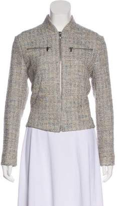 Theyskens' Theory Fitted Tweed Jacket