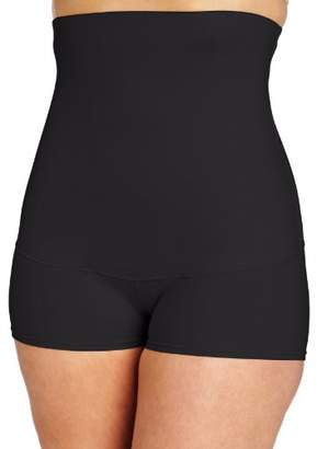 Flexees Maidenform Women's Shapewear Smoothing Hi-Waist Boyshort