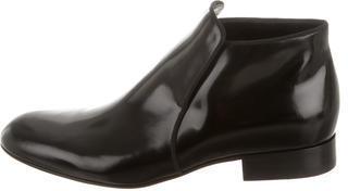 CelineCéline Patent Leather Ankle Boots w/ Tags