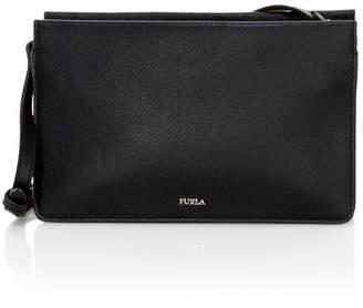 Furla Extra Large Babylon Leather Crossbody Bag