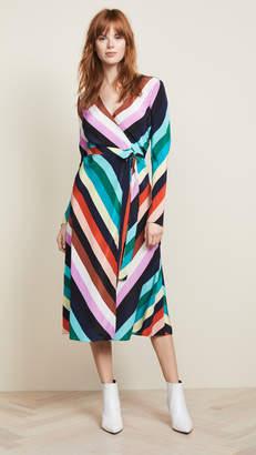 Diane von Furstenberg Woven Wrap Dress