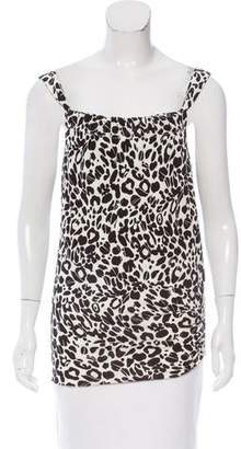 Anna Molinari Printed Sleeveless Top