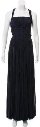 J. Mendel Sleeveless Evening Dress
