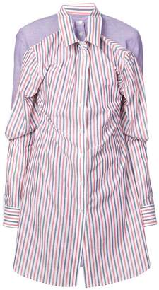 Y/Project Y / Project gathered sleeves shirt dress