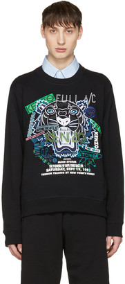 Kenzo Black Flyers Tiger Pullover $310 thestylecure.com
