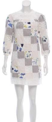 Thread Social Long Sleeve Mini Dress