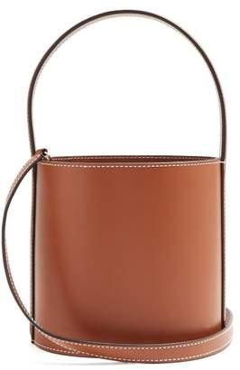 Staud - Bissett Leather Bucket Bag - Womens - Tan