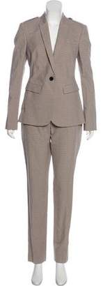 Burberry Mid-Rise Patterned Pantsuit w/ Tags