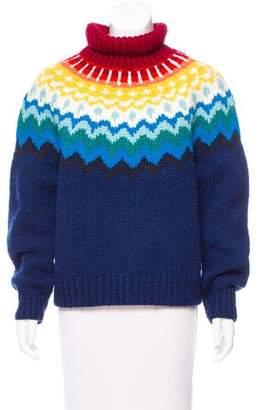 Anya Hindmarch Turtleneck Wool Sweater w/ Tags