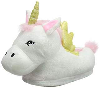 Dorothy Perkins Women's Unicorn Slippers,Small (Size: S)
