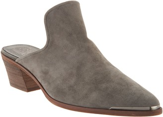 Vince Camuto Leather Slip-on Mules - Karcha