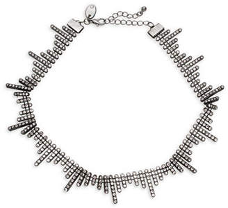 EXPRESSION Multi Rhinestone Choker Necklace