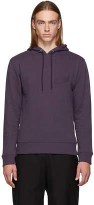 LHomme Rouge Purple Pocket Hoodie