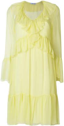 Blumarine ruffle tiered dress