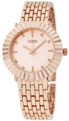 Catherine Malandrino C By Pink Dial Rose Gold Ladies Watch CBC11512R247471