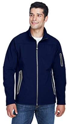 Ash City - North End Men's Three-Layer Fleece Bonded Soft Shell Technical Jacket - CLASSIC NAVY 849 - XL 88138