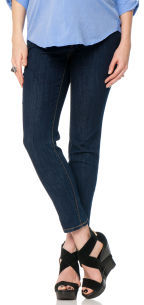 A Pea in the Pod Jeans Secret Fit Belly® 5 Pocket Maternity Crop Jeans