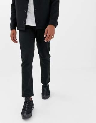 Jack and Jones regular fit jeans in black denim