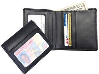 Royce New York Men'S Double Id Bifold Wallet