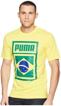 Puma Forever Football Country Tee Men's T Shirt