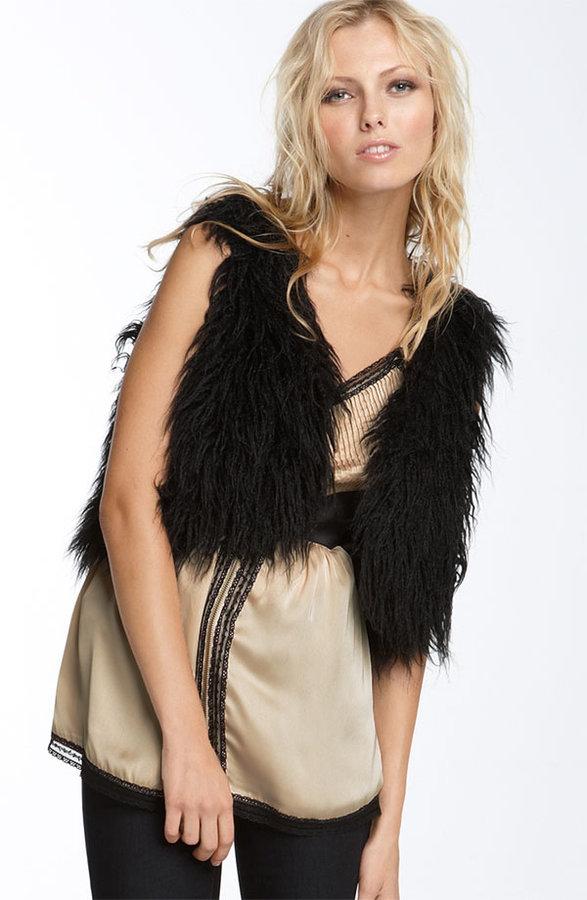 Kensie Faux Fur Vest