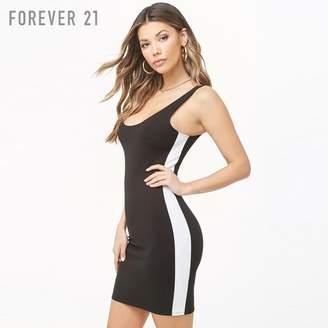 Forever 21 (フォーエバー 21) - Forever 21 サイドラインタイトワンピース
