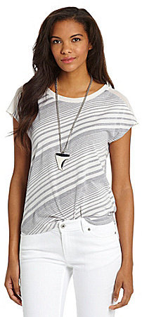 Vince Camuto TWO by Stripe Tie-Back Tee
