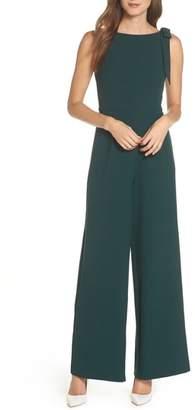 Julia Jordan Shoulder Bow Jumpsuit