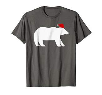 UGLY CHRISTMAS T-SHIRT Polar Bear Santa Family Shirt