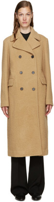 3.1 Phillip Lim Camel Wool Long Car Coat $1,495 thestylecure.com