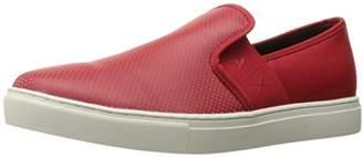 Armani Exchange A X Men's Micro Perf Slip Fashion Sneaker