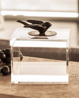 Jan Barboglio Golondrina Bird Acrylic Box
