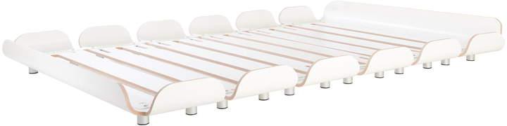 Stadtnomaden - Tiefschlaf Bett 140 cm, Weiß