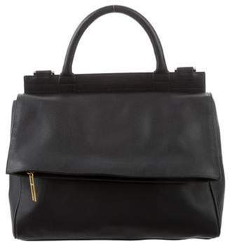 Hayward Leather Maggie Satchel Black Leather Maggie Satchel