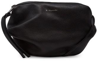 T Tahari Leather Top Zip Crossbody
