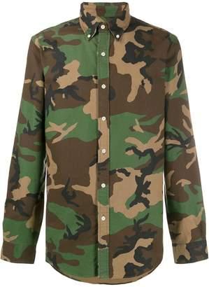 Ralph Lauren camouflage print shirt