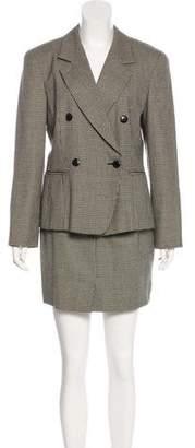 Max Mara Wool Knee-Length Skirt Suit