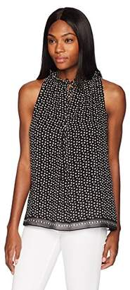 Max Studio Women's Print Halter Top