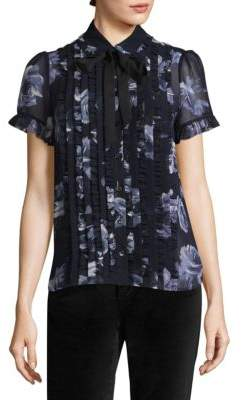 Kate Spade New York Floral-Print Blouse