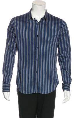 Just Cavalli Striped Long Sleeve Shirt