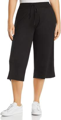 Andrew Marc Plus Performance Cropped Sweatpants