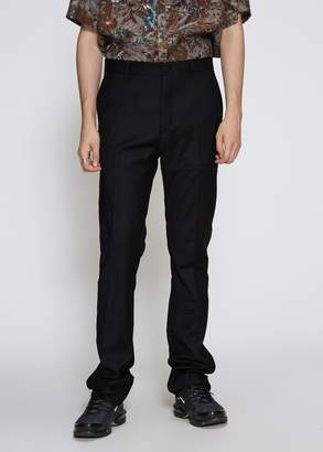 Lanvin Chain Stitch Fitted Pant