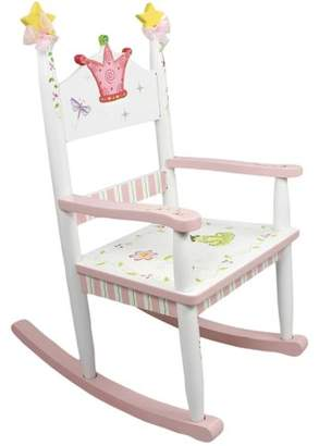 Fantasy Fields Kids Princess and Frog Rocking Chair